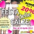 Inizia la Festa delle Calze – Primavera 2012